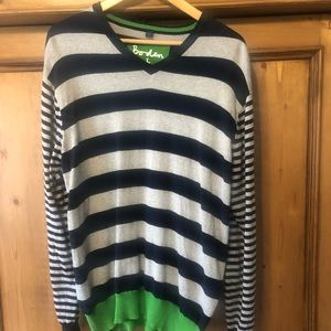 Men's Boden Striped Sweater
